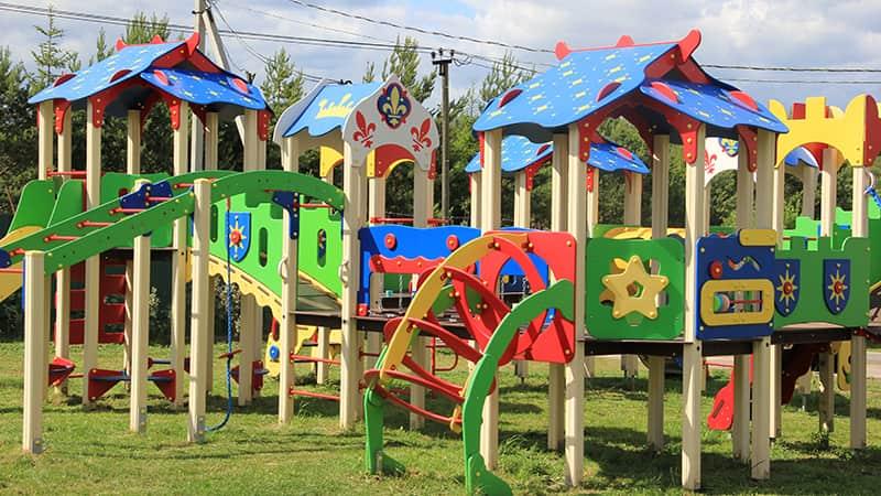 Детские площадки для детей любого возраста