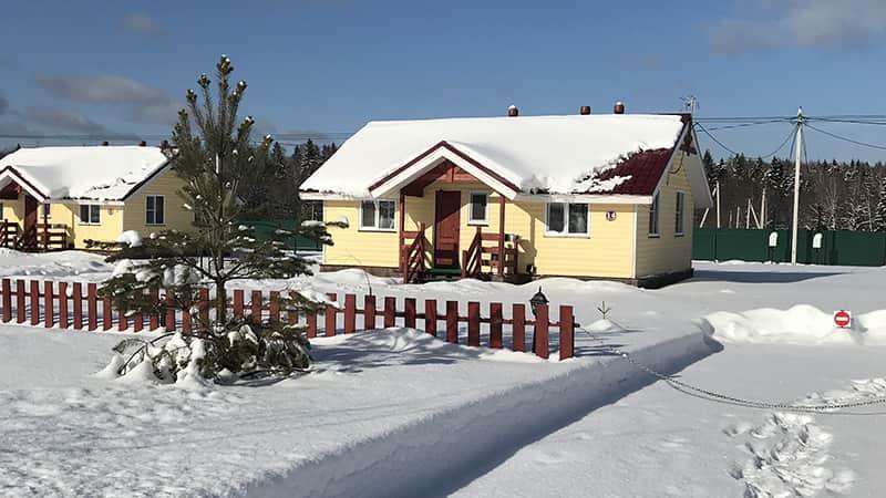 Зимняя сказка в Терехуни