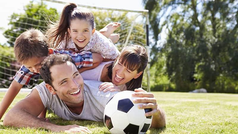 Отдых родителей с детьми