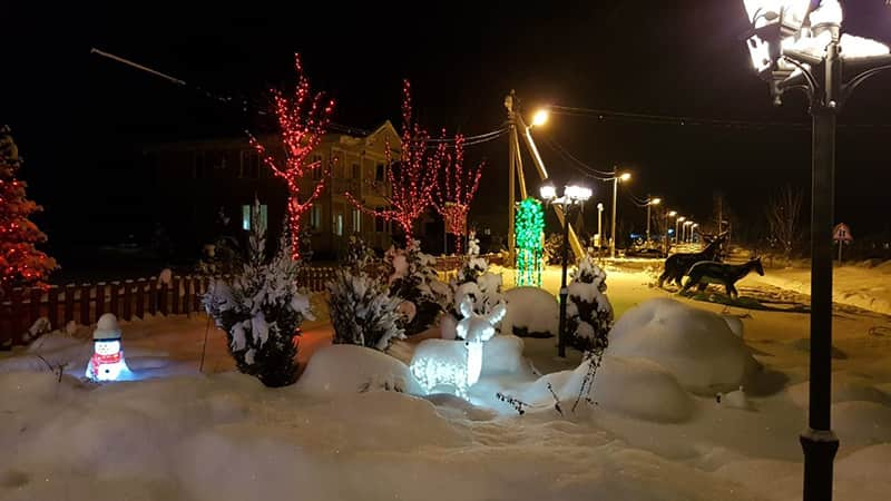 новогодние праздники в Терехуни