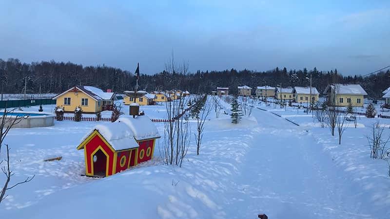 Домики на зиму в Подмосковье