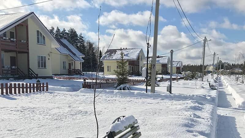 Снять коттедж на зиму