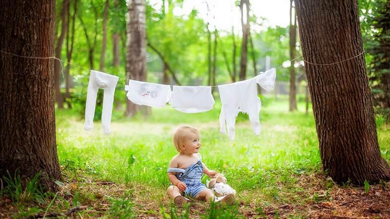 Малыш на природе